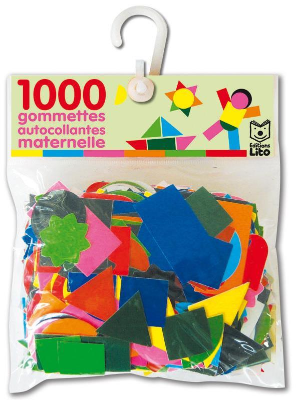 1000 Gommettes Autocollantes