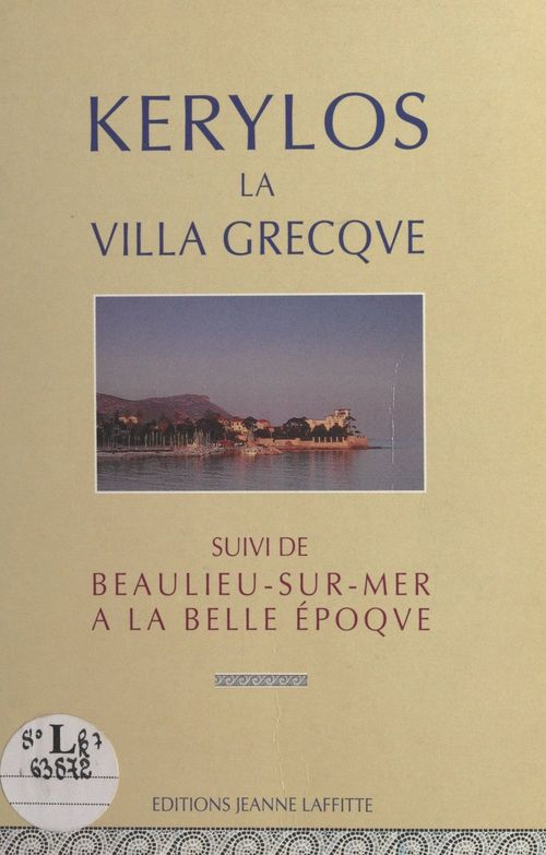 Kérylos la villa Grecque