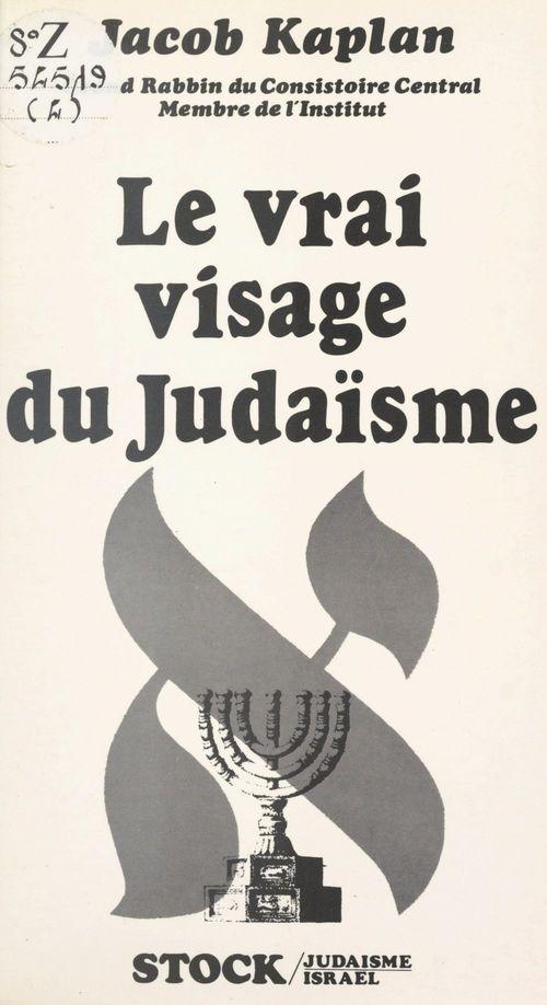 Le vrai visage du judaïsme