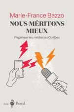 Vente Livre Numérique : Nous méritons mieux  - Marie-France Bazzo