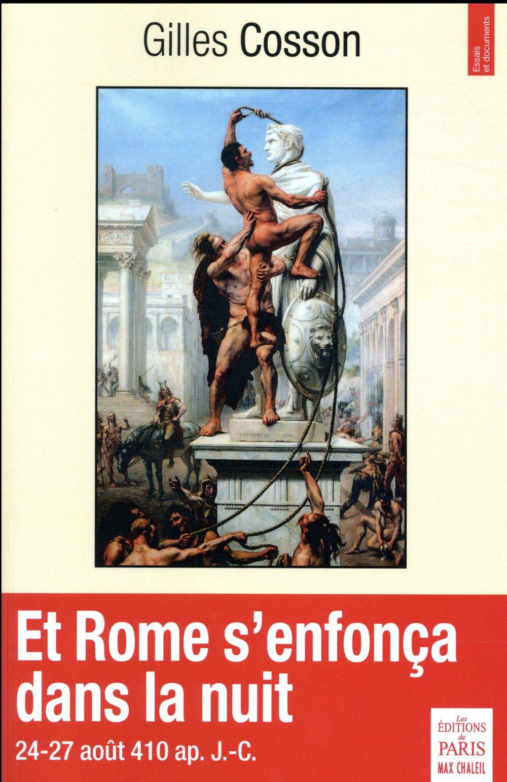 Et Rome s'enfonça dans la nuit ; 24-27 août ap. J.-C.