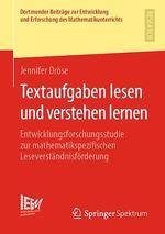 Textaufgaben lesen und verstehen lernen  - Jennifer Drose