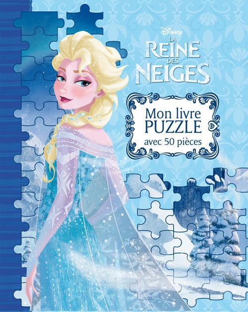 La Reine Des Neiges ; Mon Grand Livre Puzzle
