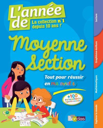 L'Annee De ; Moyenne Section ; Tout Pour Reussir (Edition 2017)