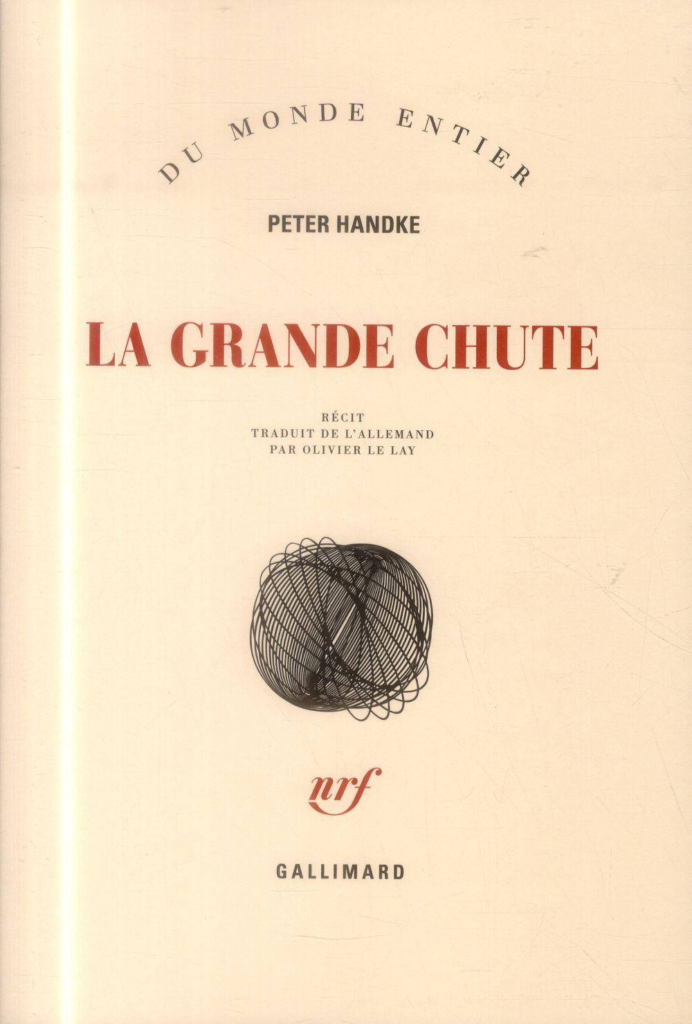LA GRANDE CHUTE