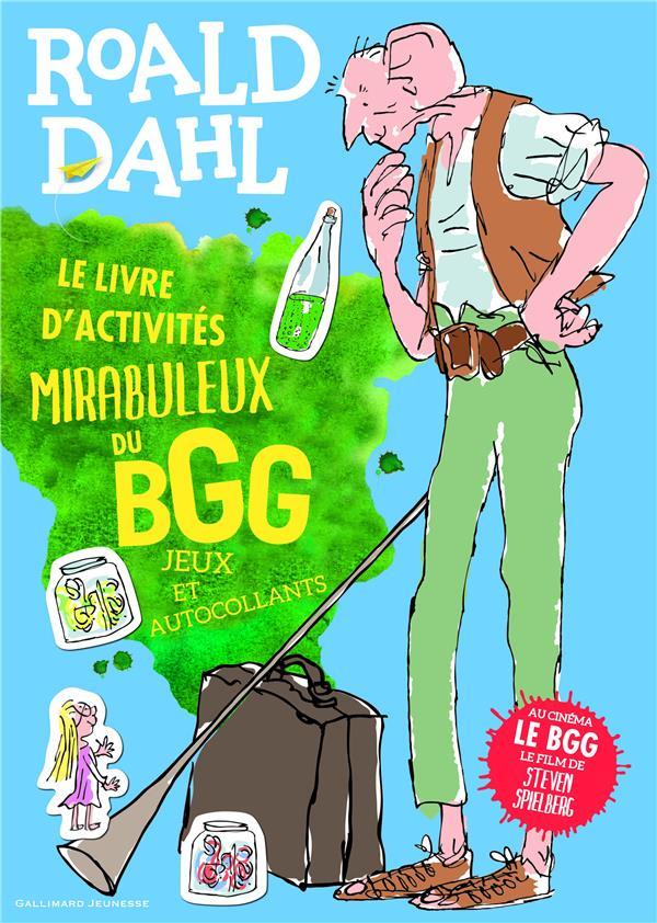 Le livre d'activités mirabuleux du bgg