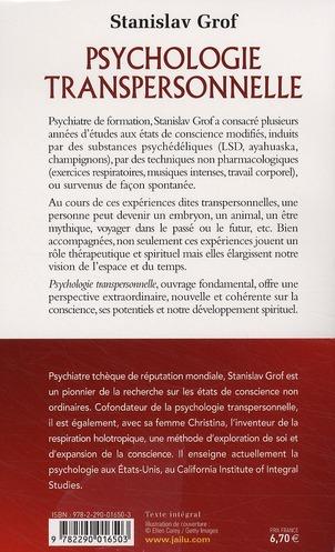 Psychologie transpersonnelle ; une approche globale et spirituelle pour épanouir sa conscience