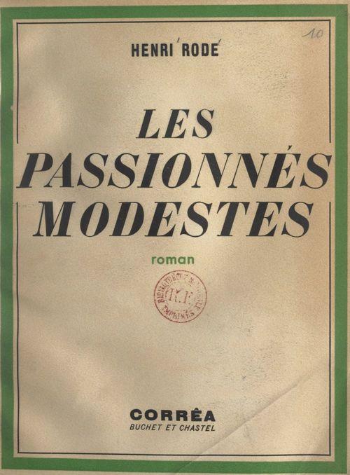 Les passionnés modestes
