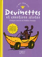 Vente EBooks : Devinettes et autres questions idiotes  - Frédéric Pouhier - François Jouffa