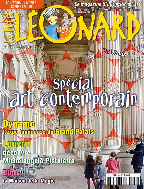 Le petit leonard t.180 ; special art contemporain