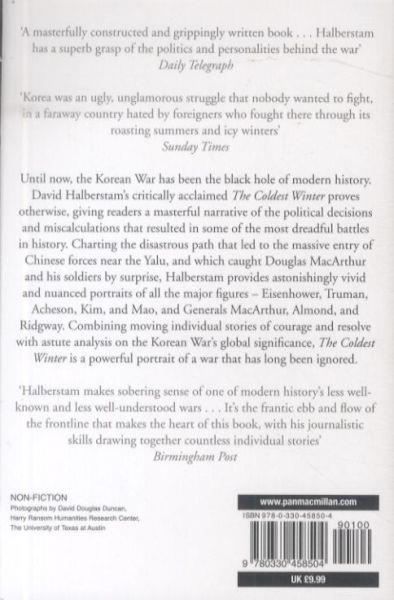 The Coldest Winter ; America and the Korean War