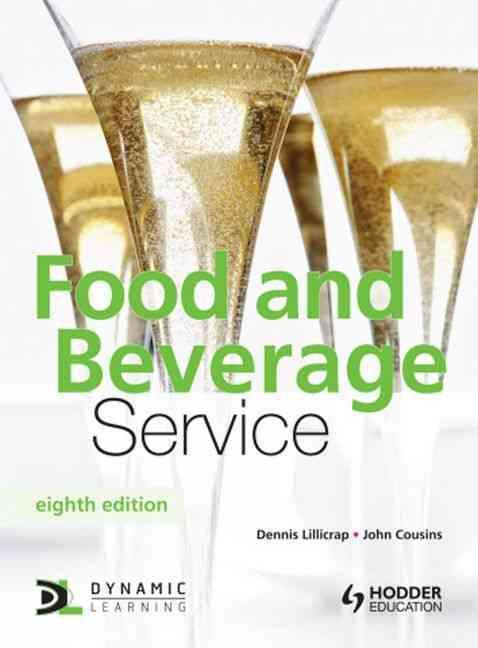 Food and beverage service - 8th edition