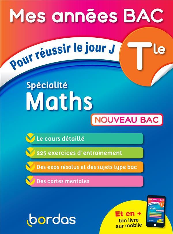 Terminale ; spécialité maths (édition 2020)