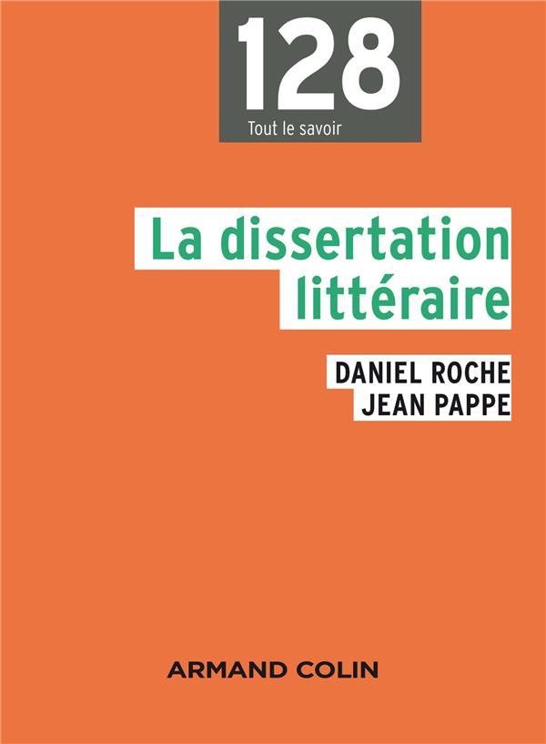la dissertation littéraire (2e édition)