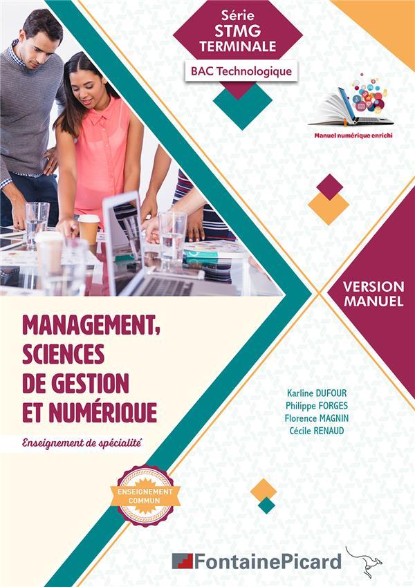 Management, sciences de gestion et numérique ; terminale STMG ; manuel