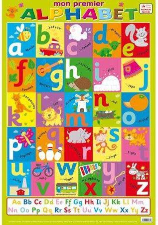 Mon premier alphabet ; posters recto verso