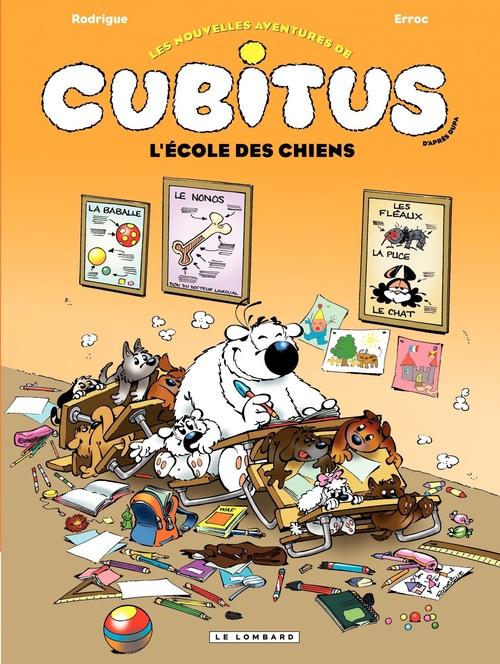 Vente Livre Numérique : Cubitus - tome 9 - L'école des chiens  - Erroc