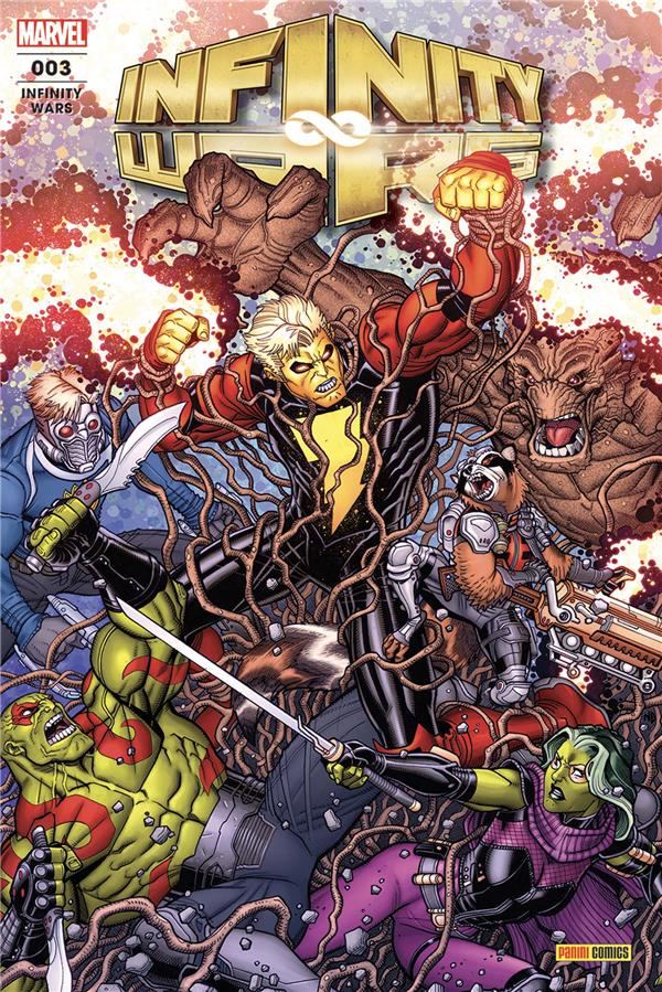 INFINITY WARS (FRESH START) N 3 CATES/LATOUR/KUDER