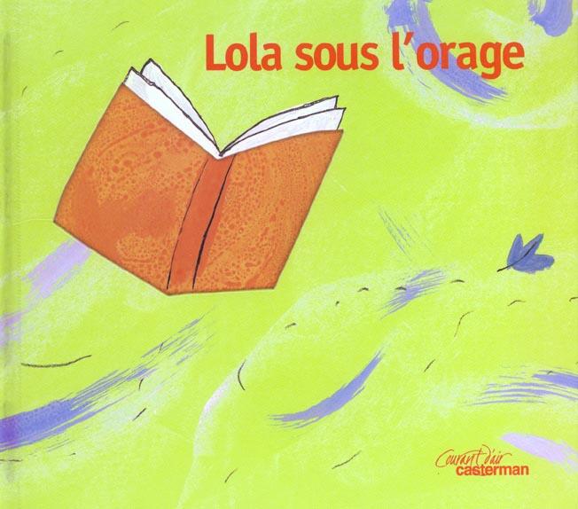 Lola sous l'orage