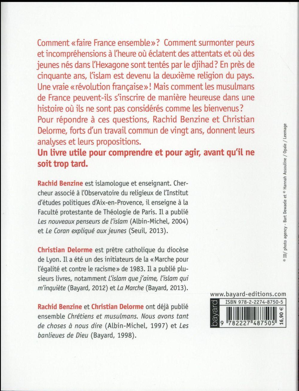la République, l'Eglise et l'Islam ; une révolution française