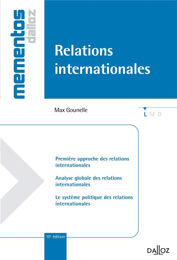 Relations Internationales (10e Edition)
