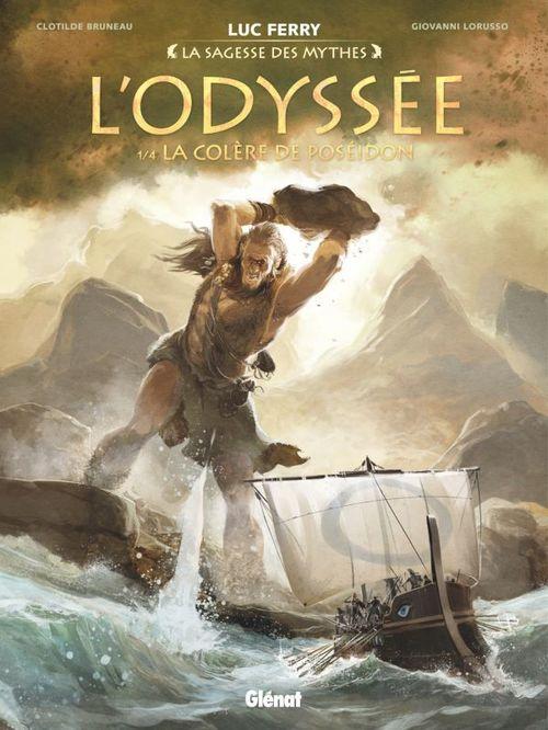 l'Odyssée t.1 ; la colère de Poséidon