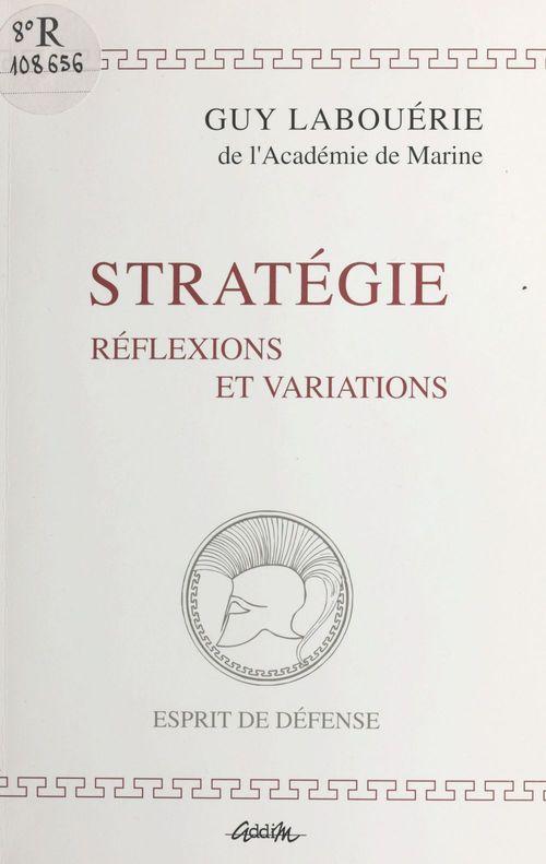 Strategies,reflexions et variations