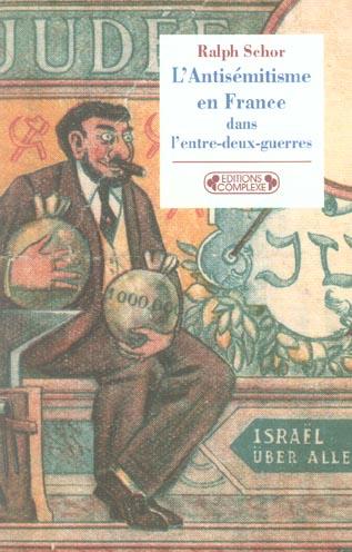 l'antisemitisme en france dans l'entre-deux-guerres