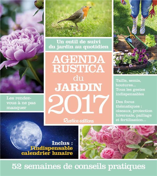 Agenda Rustica du jardin 2017