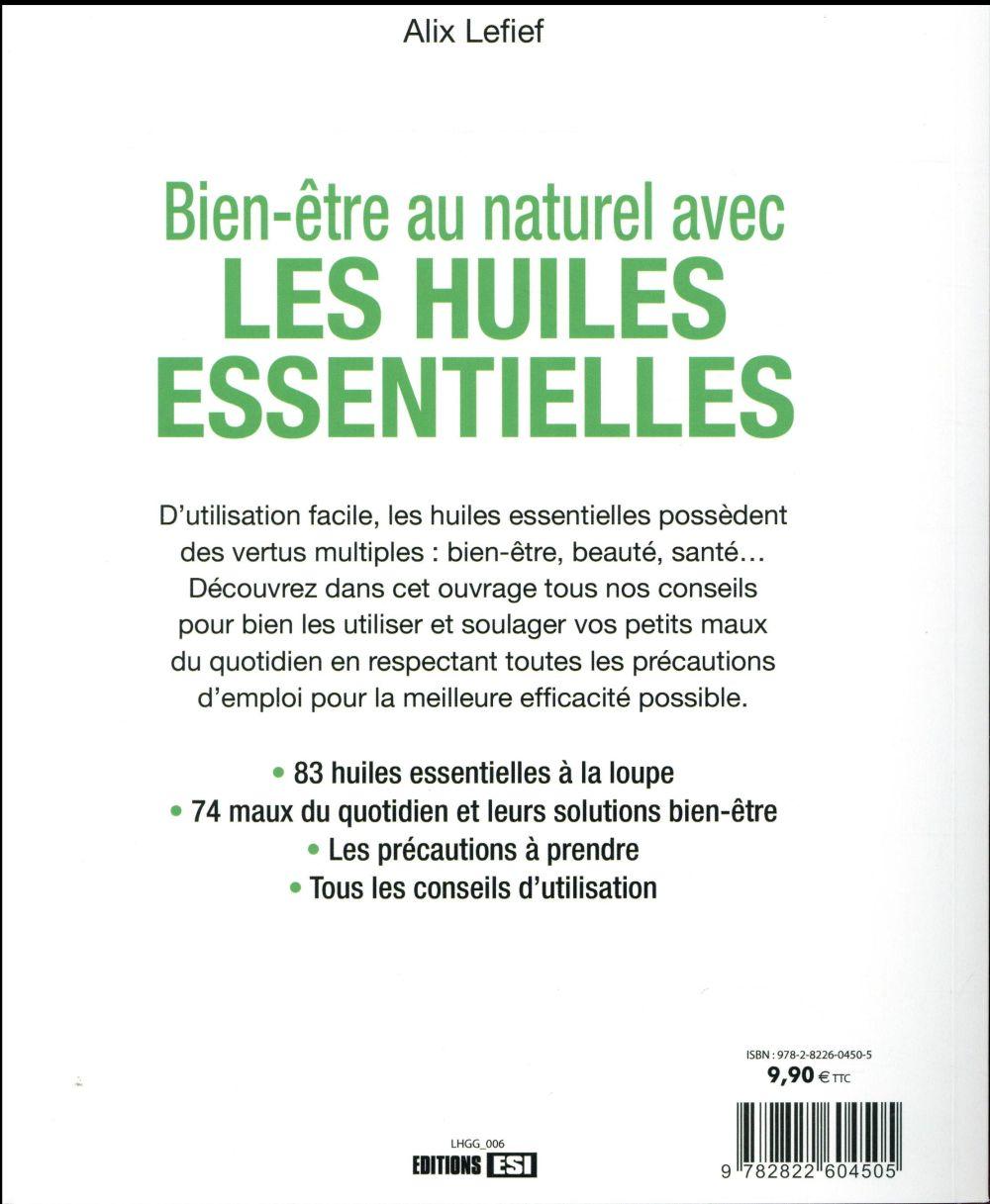Bien-être au naturel avec les huiles essentielles