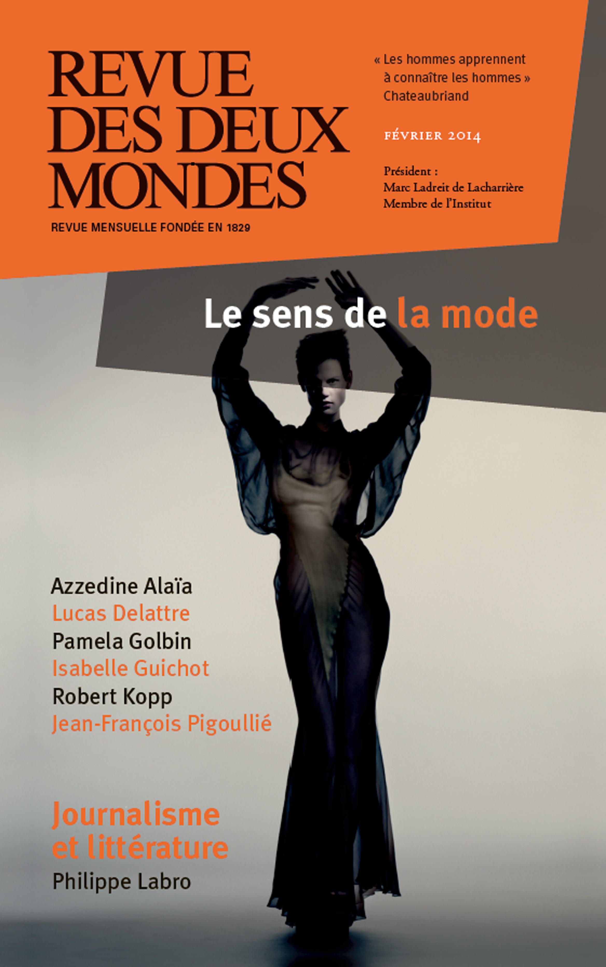 REVUE DES DEUX MONDES ; la mode