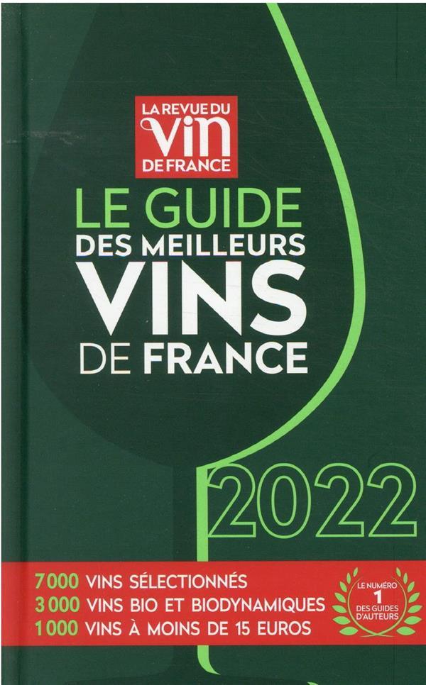Le guide des meilleurs vins de France (édition 2022)