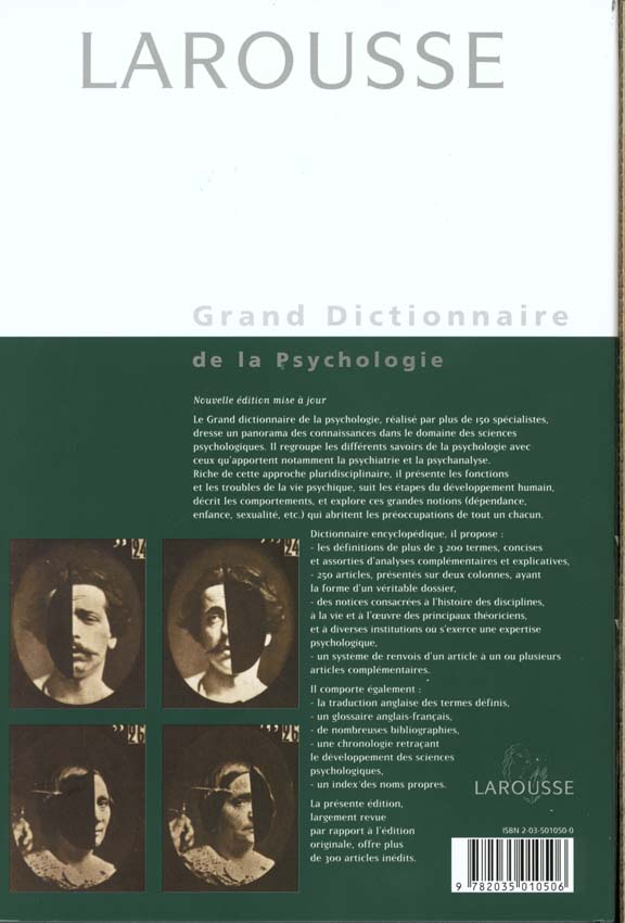 Grand dictionnaire de psychologie