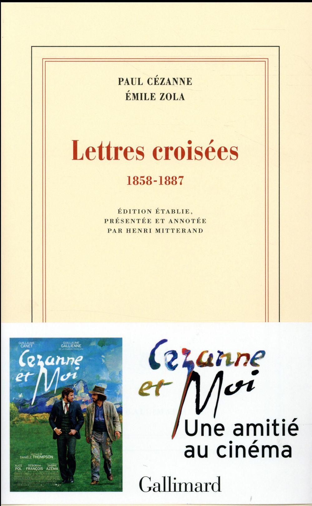 Lettres croisées ; 1858-1887