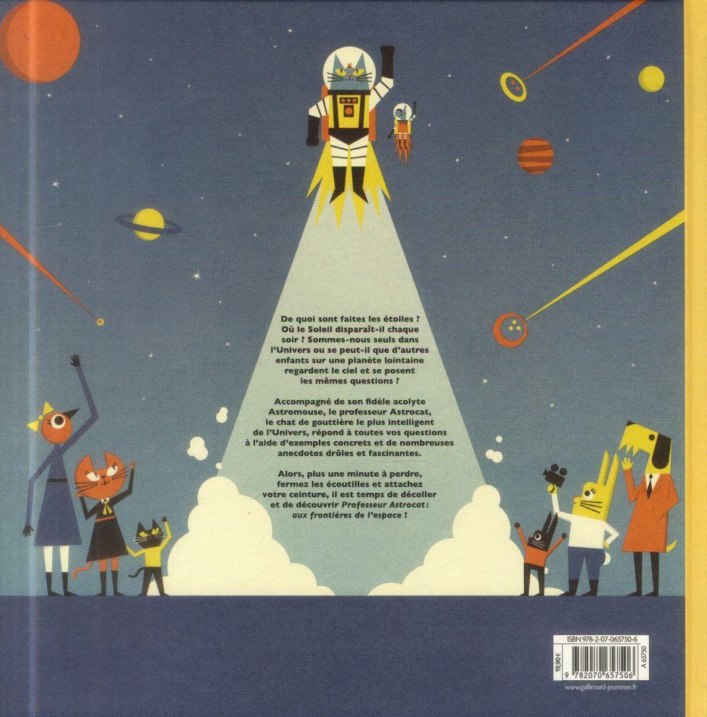 Professeur Astrocat ; aux frontières de l'espace
