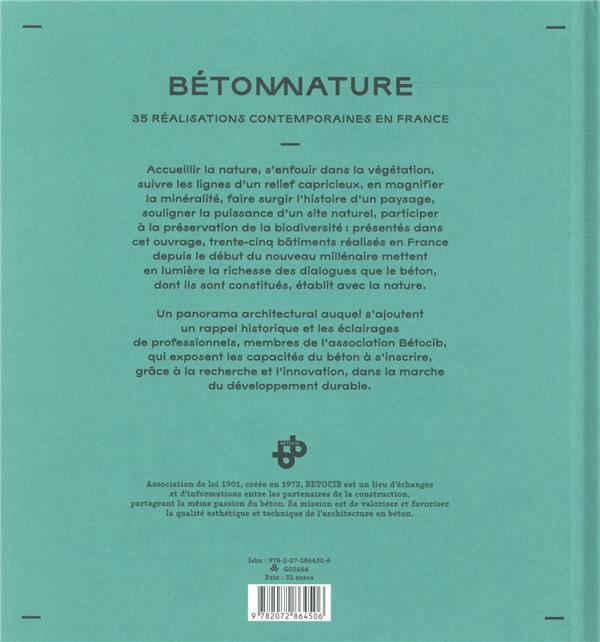 Béton nature ; 35 réalisations contemporaines