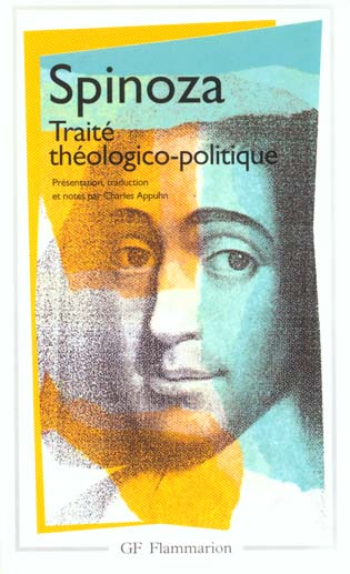 Oeuvres T.2 ; Traite Theologico-Politique