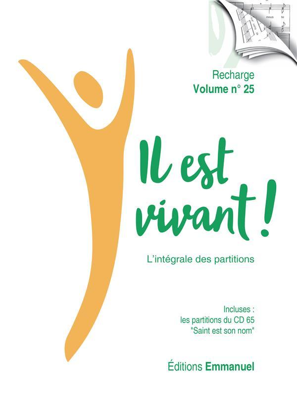 IL EST VIVANT !  -  L'INTEGRALE DES PARTITIONS  -  RECHARGE VOLUME N.25