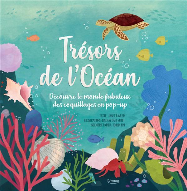 Trésors de l'océan ; découvre le monde fabuleux des coquillages en pop-up