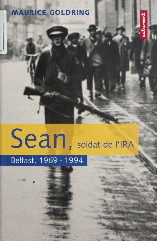 Sean soldat de l'ira a belfast en 1969