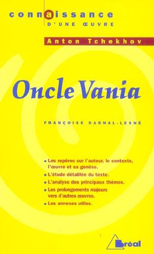 Oncle Vania D'Anton Tchekhov