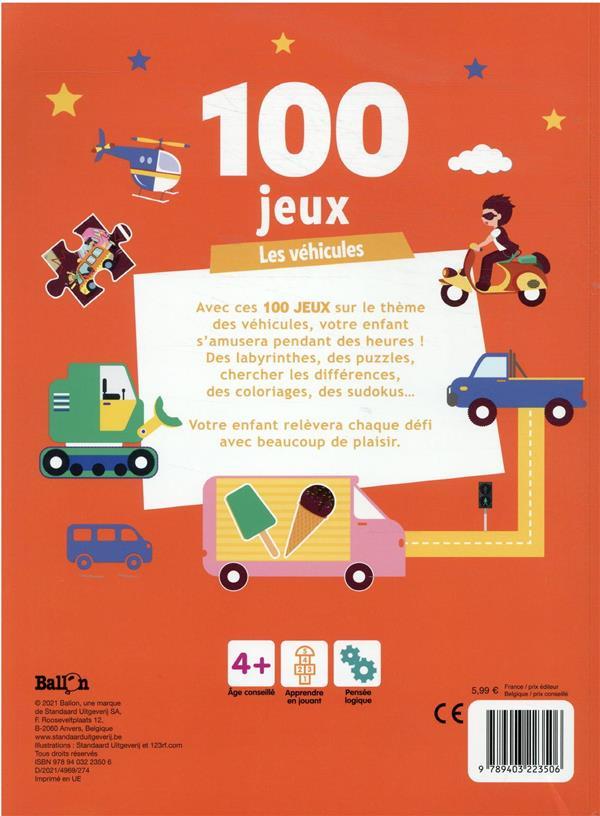 100 jeux les véhicules