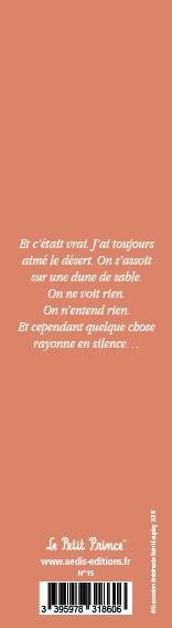 Marque-page Le Petit Prince T.14