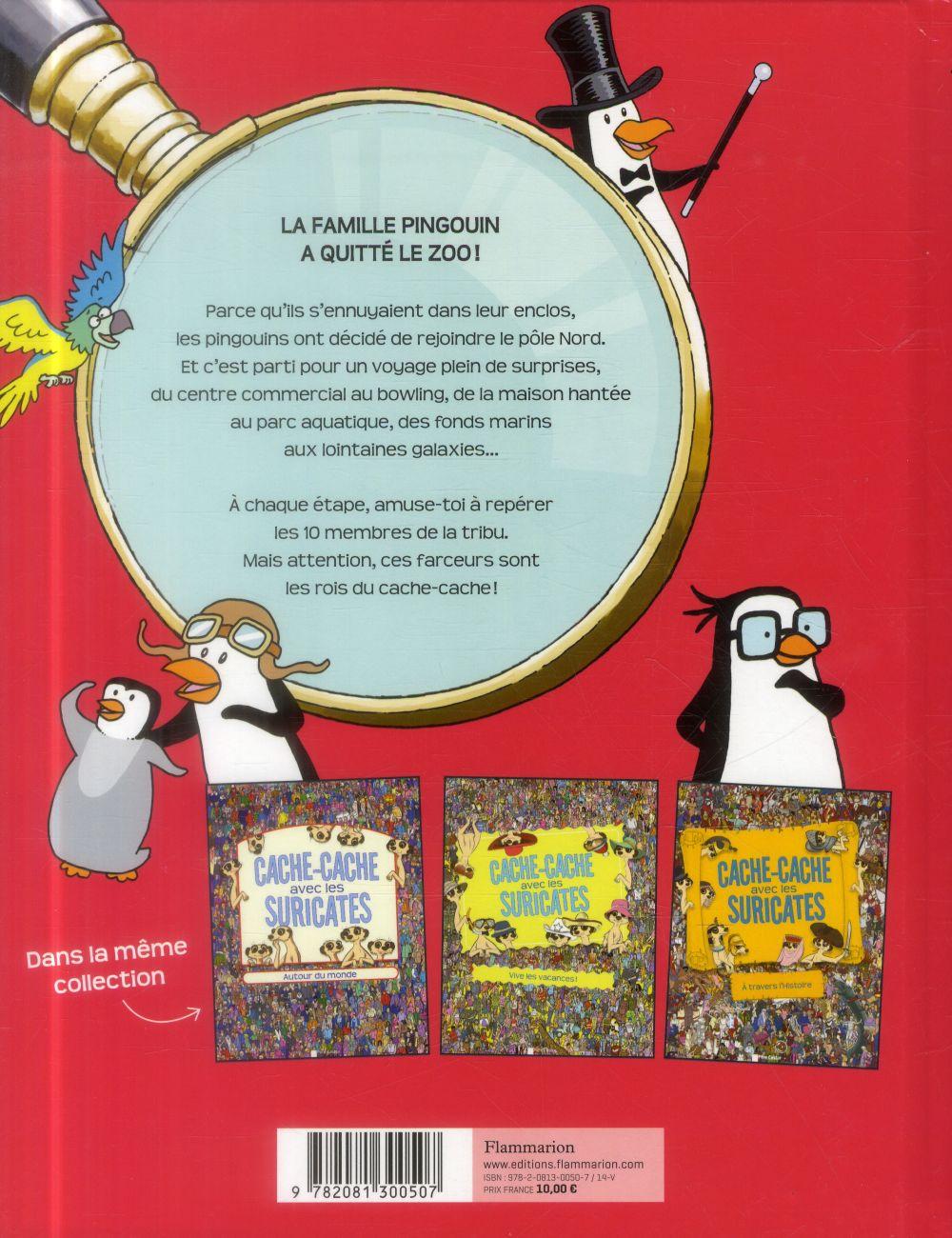 Cache-cache avec les pingouins