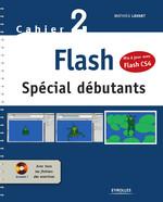 Vente Livre Numérique : Flash - Spécial débutants - Mis à jour avec Flash CS4  - Mathieu Lavant