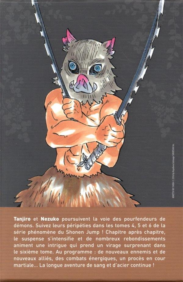 Demon slayer ; COFFRET VOL.2 ; T.4 A T.6