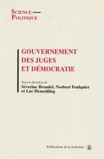 Vente EBooks : Gouvernement des juges et démocratie  - Luc Heuschling - Norbert Foulquier - Séverine Brondel