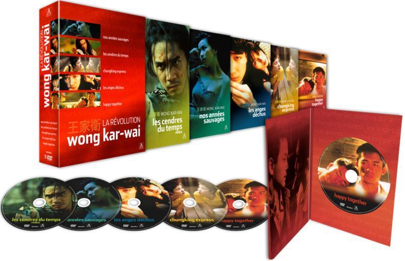 La Révolution Wong Kar-wai - Nos années sauvages + Les cendres du temps + Chungking Express + Les anges déchus + Happy Together