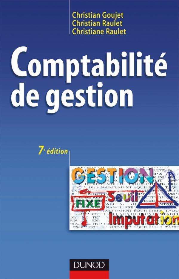 Comptabilite De Gestion - 7eme Edition - Manuel