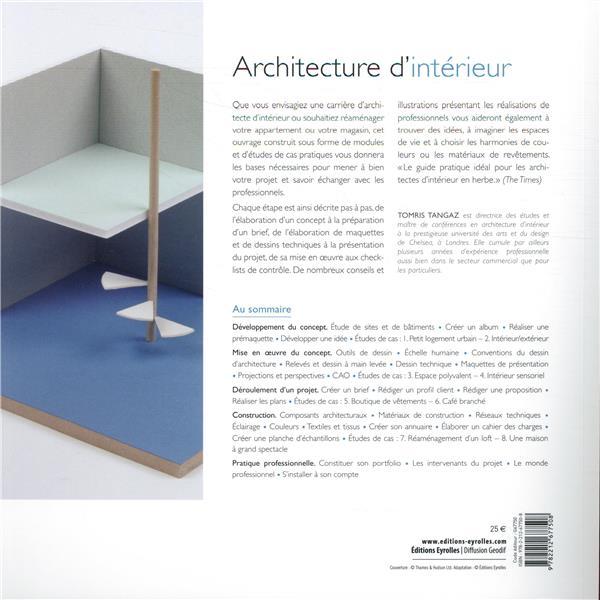 architecture d'intérieur ; cours pratique et théorique (2e édition)
